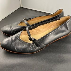 Ferragamo 6 1/2 Leather Flats